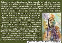 Civilized society..
