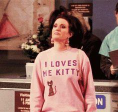 """Karen Walker"" from Will & Grace, played by Megan Mullally."