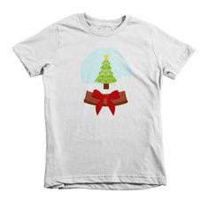 Christmas Tree Snowglobe Kids' Shirt