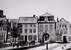 Das innere Mühlentor vor dem Abriss 1861.