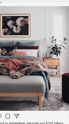 Wonderful Tips: Industrial Minimalist Interior Scandinavian Style minimalist bedroom interior inspiration.Minimalist Home Interior Clothes Racks minimalist bedroom purple paint colors. Minimalist Bedroom, Minimalist Decor, Modern Bedroom, Minimalist Kitchen, Minimalist Interior, Minimalist Living, Contemporary Bedroom, Modern Minimalist, Contemporary Furniture
