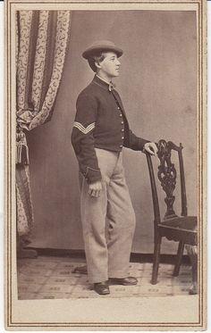 Civil War CDV, 11th Indiana Volunteer Infantry by hoosiermarine, via Flickr
