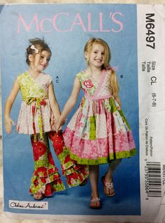 McCall's Fashion for Children Girls Top Dress and by Vntgfindz