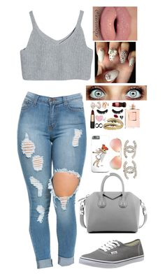 """Untitled #341"" by mina-smith1 on Polyvore featuring Vans, Givenchy, Chanel, Ray-Ban, women's clothing, women, female, woman, misses and juniors"