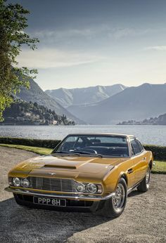 At the Concorso d'Eleganza Villa D'Este concours 2013. The Persuaders! Aston Martin DBS (from a photo shoot for Octane magazine, May 2013). Photo copyright © Martyn Goddard (www.martyngoddard.com) and OCTANE Magazine - All rights reserved.