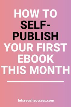 Want to publish your own book and make money selling it as soon as possible? Here's the ultimate FREE guide to picking your topic, writing your first book, self-publishing it and promoting it: best ways to start you business now Make Money Writing, Make Money Blogging, Make Money Online, How To Make Money, Writing A Book, Writing Tips, Content Marketing, Online Marketing, Self Publishing