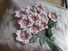 new brazilian embroidery patterns Brazilian Embroidery Stitches, Hand Embroidery Stitches, Crewel Embroidery, Embroidery Techniques, Embroidery Needles, Hand Embroidery Flowers, Flower Embroidery Designs, Ribbon Embroidery, Japanese Embroidery