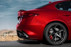 2017 Alfa Romeo Giulia Quadrifoglio There are plenty of cars I want. But I really do want to own one of these soon.