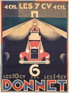 Alexey Brodovitch, Donnet, 1930.