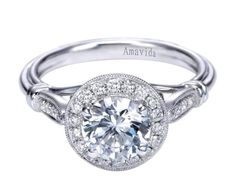 Commemorate your love with an Amavida Engagement Ring by Gabriel & Co. Have your perfect and special engagement ring shine and sparkle like the love and passion you have for your significant other! Check out all of Gabriel & Co.'s engagement rings at www.gabrielny.com