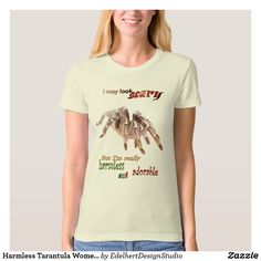 Harmless Tarantula Women's App. Organic T-shirt