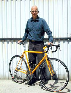 Albert Eisentraut, one of the godfathers of American bicycle frame building