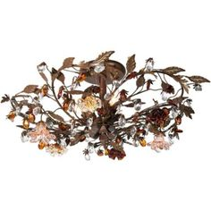 "Ghia Collection 27"" Wide Ceiling Light Fixture 