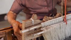 Yai Yen's mother taught her to weave when she was 16 years old and she has been weaving ever since. Her loom has seen three generations of weavers and she plans… Mother Teach, 16 Year Old, Editor, Loom, Weave, Dan, People, Photography, Photograph