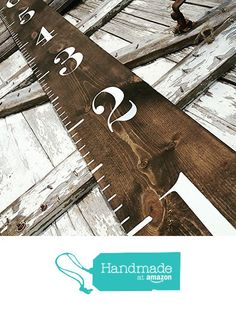 Wooden Growth Chart | Growth Chart | Farmhouse Decor | Farmhouse Style | Rustic Home Decor | Nursery Decor | Woodland Nursery | Rustic Home Decor from Three Arrows Collective https://www.amazon.com/dp/B01KR4NCB2/ref=hnd_sw_r_pi_awdo_lcVUyb6RQT83V #handmadeatamazon