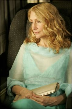 Patricia Clarkson.  Hilarious... though, not in this picture.