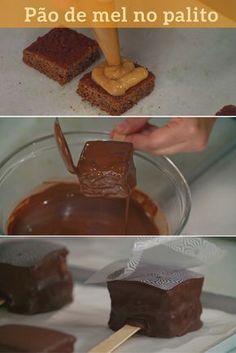 Com recheio de doce de leite e cobertura de chocolate esse doce é perfeito para agradar todos os convidados da festa