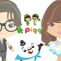 Ameba Pigg. Game online from japan that allowing you to create your own avatar, chatting, and make some new friends