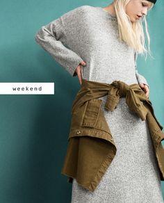 #zaradaily #weekend #trf #dress #jacket
