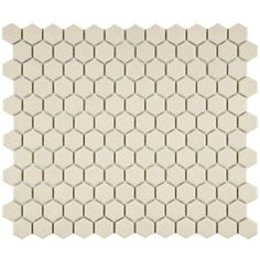 4fbb6612fca Merola Tile Heritage Hex Natural 10-1/4 in. x 11-3/4 in. x 5 mm Unglazed  Porcelain Mosaic Tile (8.56 sq. ft. / case)