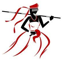 O raio de Yansã sou eu, cegando o aço das armas de quem guerreia. O vento de Yansã também sou eu. Que Sta Bárbara é santa que me clareia...