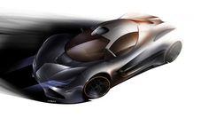 Mclaren LM5 concept rendering - Automotive Design by Lockanload