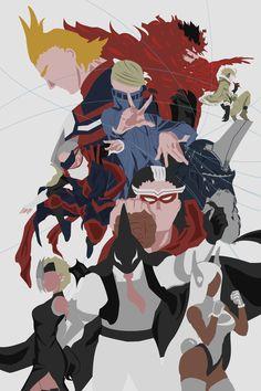 "Bnha //Ana-list — ""Part of us"" Minimalist posters of My hero. My Hero Academia Shouto, My Hero Academia Episodes, Hero Academia Characters, Boku No Hero Academia, Minimalist Wallpaper, Minimalist Poster, Minimalist Art, Gurren Laggan, Best Hero"