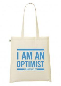 Urban Times - Optimist - Tote bag