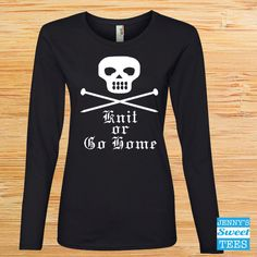 Knit or Go Home | Gilmore Girls Shirt | As seen in the Show-A19 by JennysSweetTees on Etsy https://www.etsy.com/au/listing/480131649/knit-or-go-home-gilmore-girls-shirt-as