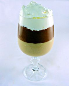 Peanut Butter and Milk Chocolate Pudding #desserts #dessertrecipes #yummy #delicious #food #sweet