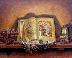 Коллекция картинок: Сказка о старых вещах. Художник Ricardo Renedo