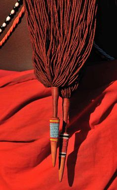 Africa | Details; Masai man.  Laikipia, North Kenya. | ©Christophe Cerisier