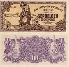 Statues of Buddha on back from Borobudur Temple. Borobudur Temple, Coins Worth Money, Coin Worth, Notes Design, Ad Art, Time Capsule, Historical Photos, Dutch, Design Art