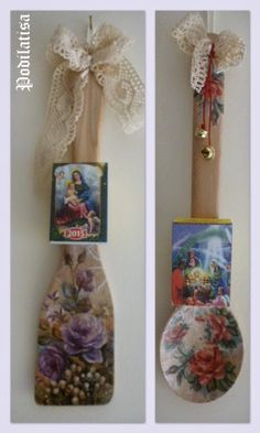 goyria 2016 me ntekoupaz - Αναζήτηση Google Winter Christmas, Christmas Presents, Christmas Crafts, Christmas Decorations, Holidays And Events, Wooden Boxes, Ladder Decor, Decoupage, Calendar