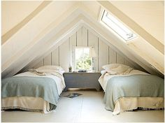 Charming Attic Bedrooms