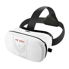 LP 3D Video Virtual Reality VR Glasses headset player box,Suitable for almost all kinds of smart phones (Android / IOS, etc),white => Review more details here : Travel Gadgets