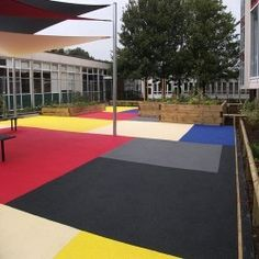 Wet Pour Playground Surfacing in Lincolnshire 5