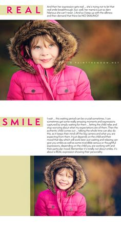 Tips and tricks to get kids to relax and have fun during sessions so you can capture their real emotion and show off their amazing, unique little personalities in photos.