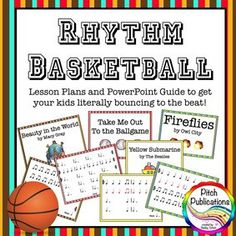 Rhythm Basketball – Great Lesson for 4th and 5th! | Pitch Publications with Shelley Tomich