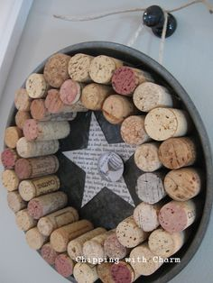 Chipping with Charm: Cheers-y Wreath