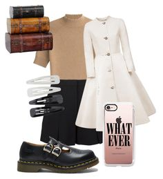 """""""Cool"""" by mille-marie-rue-halling on Polyvore featuring Theory, T By Alexander Wang, Esme Vie, Forever 21, Dr. Martens and Casetify"""