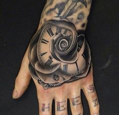 Hand may be one of the most visible part of the body to get tattoo. When I see a person with a fully occupied hand tattoo, I feel there are a lot more to Tiger Hand Tattoo, Mandala Hand Tattoos, Flower Tattoo Hand, Skull Hand Tattoo, Hand Tattoos For Girls, Rose Tattoos For Women, Tattoos For Guys, Cool Tattoos, Tatoos