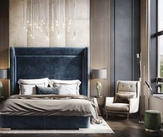 This type of contemporary bedroom furniture is honestly an amazing design approach. Luxury Bedroom Furniture, Luxury Bedroom Design, Master Bedroom Design, Furniture Design, Bedroom Decor, Bedroom Ideas, Modern Furniture, 60s Bedroom, Indie Bedroom