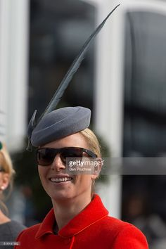 Zara Phillips walks through the racecourse during St Patrick's Day at the Cheltenham Festival at Cheltenham Racecourse on March 17, 2016 in Cheltenham, England. The four day annual jump racing event sees jockeys compete for a piece of the 4.1 million GBP of the prize money.  (Photo by Ben Pruchnie/Getty Images)