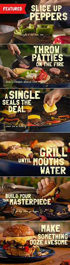 Grill up an unrivaled classic with this All American Steak Burger.