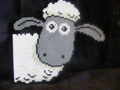 Shaun the Sheep hama perler beads Cross Stitching, Cross Stitch Embroidery, Cross Stitch Patterns, Baby Boy Knitting Patterns, Knitting Charts, Sheep Cross Stitch, Christmas Perler Beads, Nerd Crafts, Shaun The Sheep