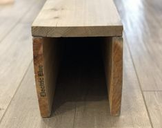 How to make DIY Faux Wood Beams - Easy to follow tutorial Fake Wood Beams, Faux Ceiling Beams, Faux Beams, Wood Ceilings, Faux Mantle, Diy Fireplace Mantel, Wood Mantle, Into The Woods, Clutter