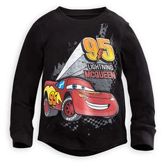 Lightning McQueen Thermal Tee for Boys