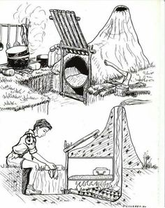 Good idea for a camp and cook fire? The Effective Pictures We Offer You About Camping Survival women A quality picture can te Bushcraft Camping, Camping Survival, Outdoor Survival, Camping Hacks, Survival Life Hacks, Survival Tools, Survival Prepping, Homestead Survival, Wilderness Survival