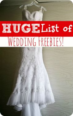 Wedding Freebies